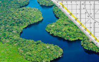 Амазонка самая большая и полнодовная река в мире