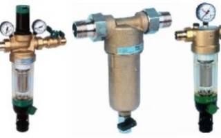 Фильтры тонкой очистки воды — устройство и эксплуатация