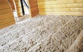 Как утеплить пол в деревянном доме с использованием экологичных материалов.
