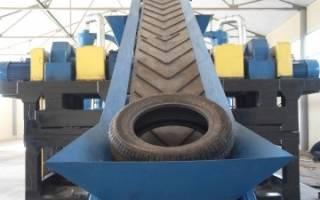 Вторичное использование и переработка изношенных автомобильных покрышек