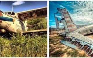 Утилизация самолетов – начальный этап цикла самолетостроения