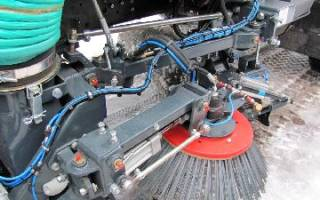 Подметально-уборочные машины: убирает умная машина
