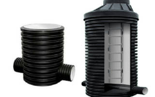пластиковые канализационные колодцы —обустройство канализации
