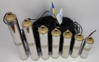 Скважинный насос водолей, характеристики, ремонт