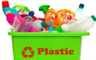 Пластиковая тара для пищевых продуктов из вторсырья